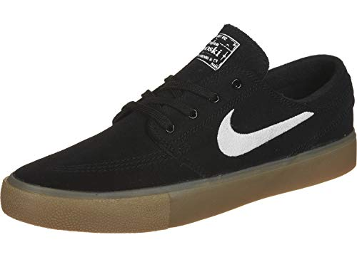 Nike SB Zoom Janoski RM, Zapatillas de Deporte Unisex Adulto, Multicolor (Black/White/Black/Gum Light Brown 3), 41 EU