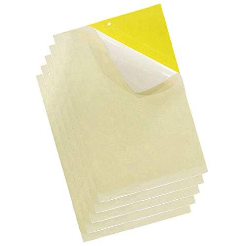 20 Piezas Amarillo Trampas Adhesivas para Moscas Insectos pi