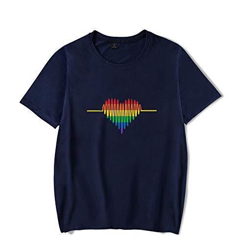 LGBT Camiseta Manga Corta Basica Mujer Hombre Swag Sudadera Sin Capucha Camisa Sweatshirt Sueter Blusa Cuello Redondo Jersey Verano Pulover Hip Hop Jumper Tunica Top A18323TX014S