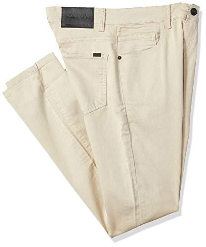 Calça Cont. Skinny Color, Reserva, Masculino, Areia, 42
