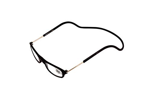 Gafas de lectura magnéticas con correa para el cuello, plegable, ajustables