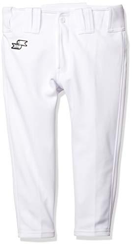 [エスエスケイ] 野球ユニフォーム ジュニア練習着ショートフィットパンツ ボーイズ ホワイト 140