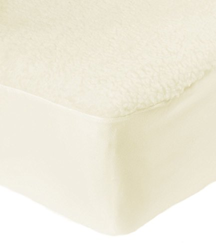 AmigoZone EXTRA DEEP FITTED MATTRESS PROTECTOR FLEECE UNDERBLANKET (King)
