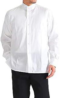 [アナトミカ] バンドカラーシャツ 530-541-06 ノーカラーシャツ 長袖シャツ (メンズ)
