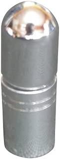 アトマイザー 携帯 持ち運び ミニ サイズ 3ml ロール オン タイプ 香水 詰め替え (シルバー)