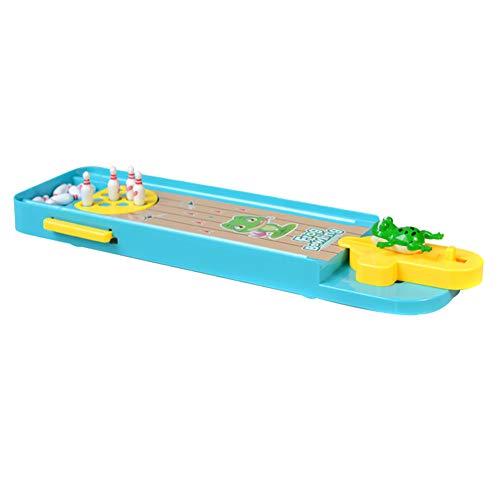 Veryeah Mini 3D Frosch Bowling Tisch Spiele Launcher Spielzeug für Kinder Kinder Eltern-Kind-Interaktion