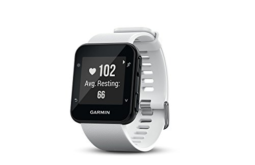 Garmin Forerunner 35 Watch, White (Renewed)