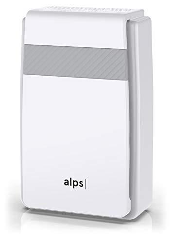 Purificateur d'air Alps Technologies | CADR élevé | 5 étapes de filtration | Préfiltre + HEPA premium + charbon-actif + filtre à formaldéhyde + ioniseur | ALPS_PA_M1 | Marque Française