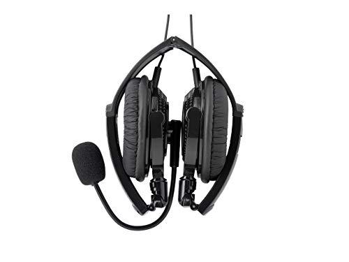 BUFFALO両耳ヘッドバンド式ヘッドセットUSB接続/折りたたみタイプブラックBSHSUH13BK