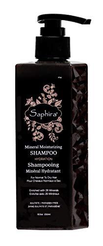 SAPHIRA Keratin Moisturizing Shampoo (250 ml)