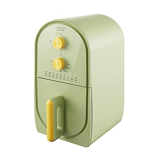 Freidora Sin aceite saludable 3L Temporizador y control de temperatura ajustable para cocinar con poca grasa