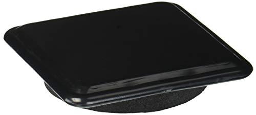 Shepherd Hardware 3-inchx Zoll-Slide Glide Mover Pads, schwarz, 9335