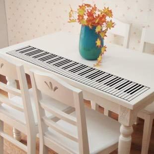 LGDB Muursticker 88 Key Piano Vinyl Muurstickers Standaard Piano Toetsenbord Muziek Muursticker Voor Kinderen Kamerdecoratie