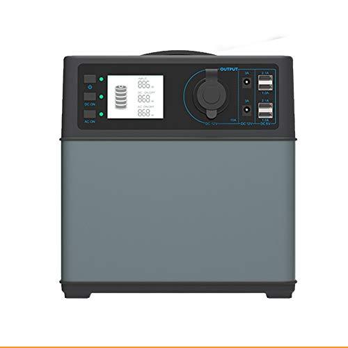 ZYRAY 400Wh tragbares Auto Starthilfe Kraftwerk Power Bank Solarstrom Generator Versorgung Energiespeicher 4 * USB / 2AC & DC Wechselrichter
