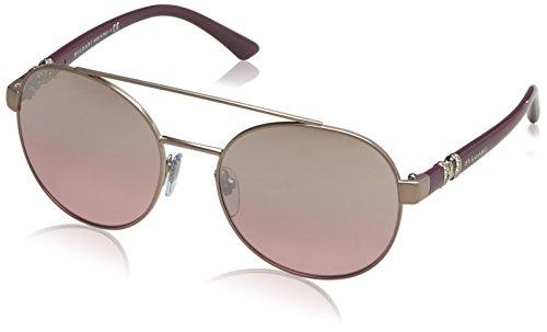Bulgari 0Bv6085B 20217E 55 Gafas de sol, Marrón (Pink/Brown/Pink), Unisex-Adulto