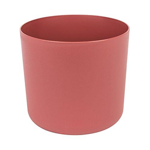 Classique cache-pot en plastique Aruba 20 cm en pastel bordeaux couleur