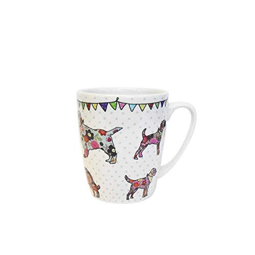 Churchill China The Caravan Trail CARV11351 - Taza de roble para perro