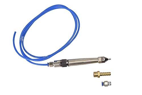 Penna pneumatica in metallo per incisione