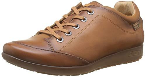 Pikolinos Lisboa W67, Zapatos de Cordones Derby para Mujer, Marrón Brandy, 38 EU