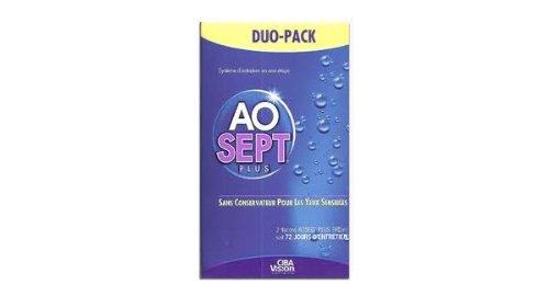 Aosept Plus für harte und weiche Linsen, 2 x 360 ml