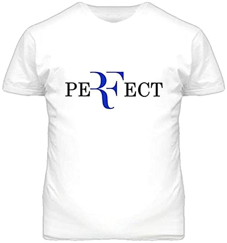 AZWE Roger Federer Logo Perfect Tennis Player T Shirt_2305