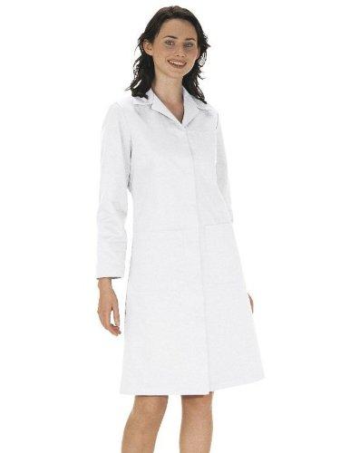 Portwest Standard Damen Labor Works ARTZT medizinisch weiß Mantel Damen Arbeitskleidung Jacke - Weiß, Large