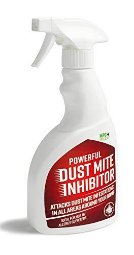 MPC Anti-Milben-Allergie-Spray, gegen Asthma, juckende Augen, Ekzeme, Ausschläge, Milben