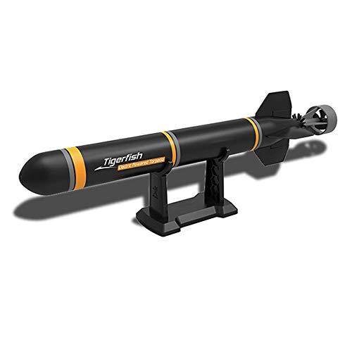 REFURBISHHOUSE Barco Submarino RC para Kits de Modelos de Ensamblaje de Torpedos DIY Juguetes Extracurriculares Explorar el Mar