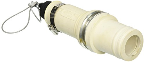 Leviton macho enchufe de, aislante, ondulado, 313MCM a 777MCM Cable, rhino-hide Single Pole conector, Blanco