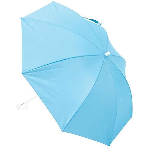 Rio Brands Assorted 4' Clamp On SPF 50 Beach Umbrella