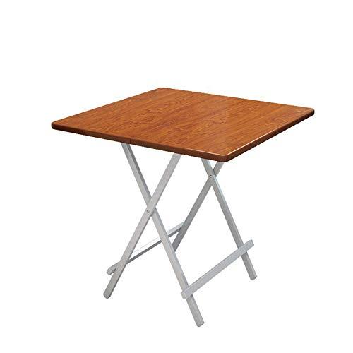 ZhaojDNZ multifunctionele tafel, draagbaar, opvouwbaar, voor feesten buiten, campingtafel, met afdekking, voor kinderen, met 3 perfecte afmetingen, hoogte: 60 x 60 x 55 cm