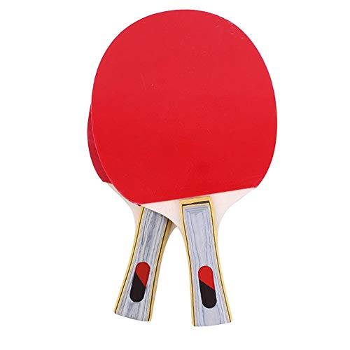 Best Bargain ZKWSJNGD Beginners Table Tennis bat Suit Custom Double-Sided Anti-Plastic Finished Shoo...