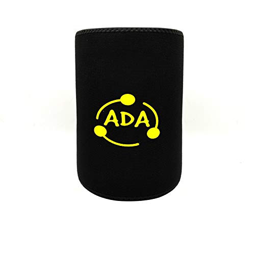 Ada Ab Belt Trimmer for Weight Loss Faster,Sweat Enhancer Exercise Workout Belly Belt, Low Back, Abdominal Muscle & Back Support, Belly Tummy Yoga Wrap Exercise Body Slim Belt 84 cm Size - Black