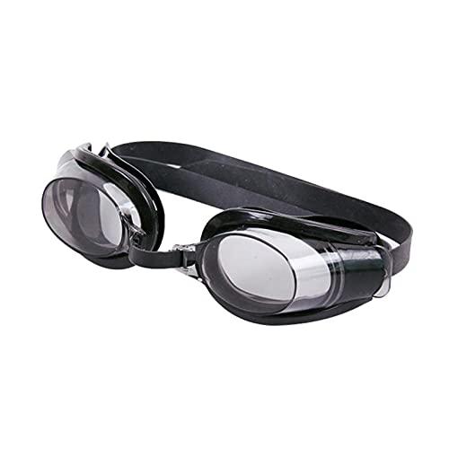 YONGLI Gafas De Natación Gafas para Adultos Unisex Unisex Anti-Fog Negro Naric Clip Clip Ear Plug Set Outdoor Deportes Accesorios (Color : Black)