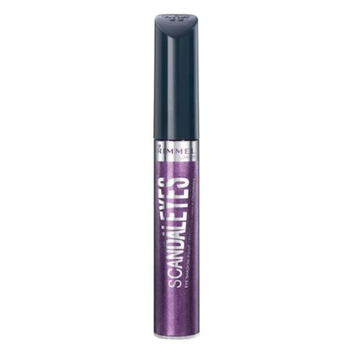 我慢する晴れ吸収RIMMEL LONDON Scandaleyes Shadow Paint - Manganese Purple (並行輸入品)