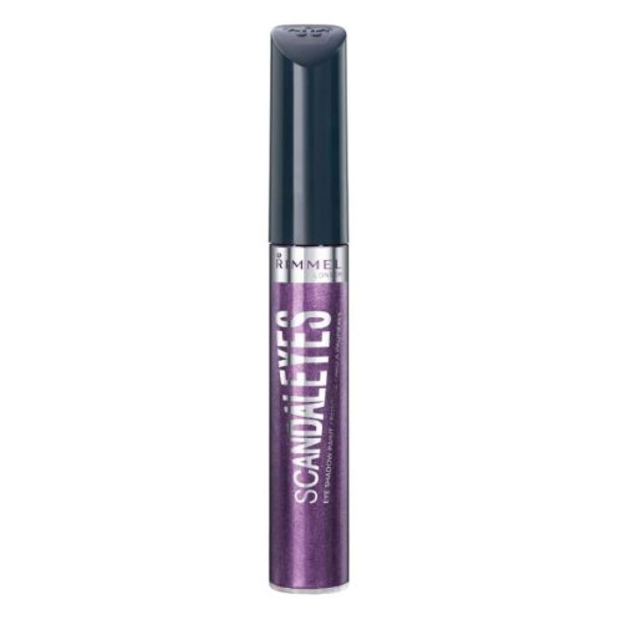 悪意お勧め数学的なRIMMEL LONDON Scandaleyes Shadow Paint - Manganese Purple (並行輸入品)