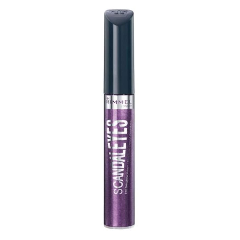 リス姿勢立ち寄る(3 Pack) RIMMEL LONDON Scandaleyes Shadow Paint - Manganese Purple (並行輸入品)