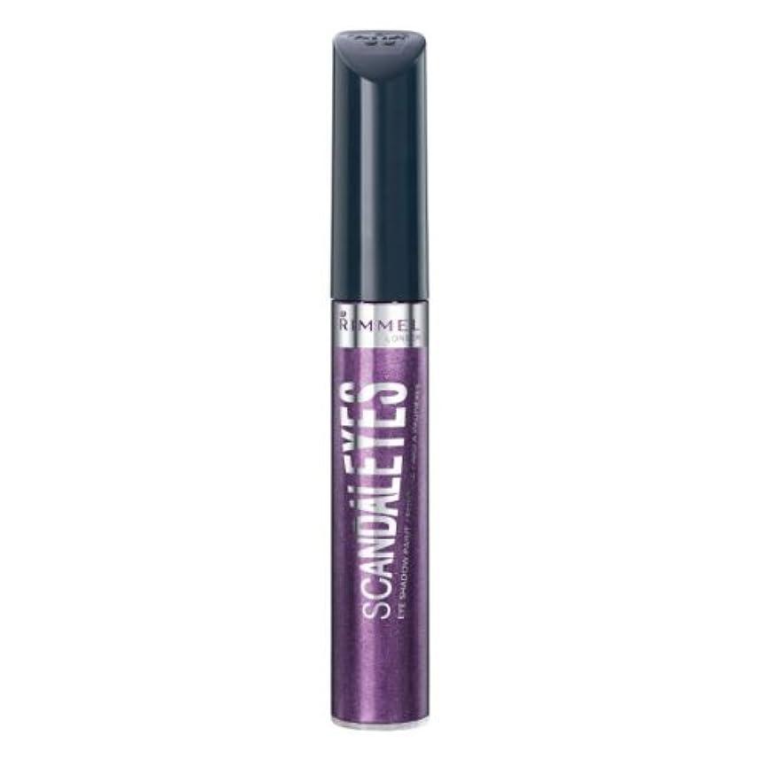 ペルセウスあいにく抑圧RIMMEL LONDON Scandaleyes Shadow Paint - Manganese Purple (並行輸入品)