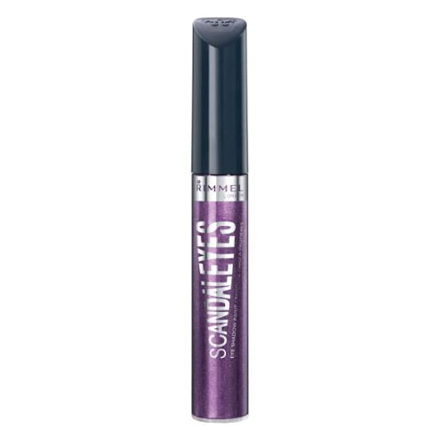 別の陪審失うRIMMEL LONDON Scandaleyes Shadow Paint - Manganese Purple (並行輸入品)