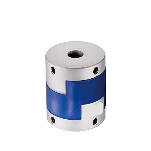 TANGJIANCHENG-C Coupler Aluminium D20 L25 Coupler Power Shaft Couplings Cross Slide Block Top Wire Series (Inner Diameter : 6x12)