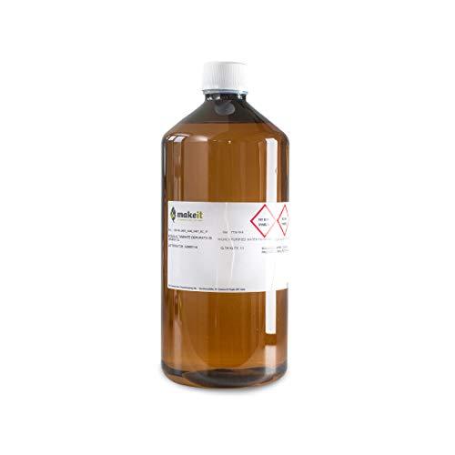 Agua altamente depurada de grado farmacéutico – para uso interior y exterior – Make it (1 l)