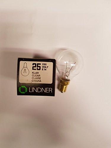 Lindner Kugellampe 25 W E14 klar