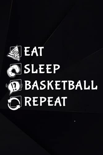 Bowling Score Book - Eat Sleep Basketball Repeat Gift Art: Basketball, Bowling Game Record Keeper Bowling Score Sheets, A Bowling Score Keeper for League Bowlers, Bowling casual and tournament play,College