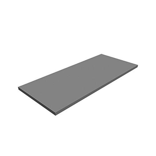 Regalboden Regalbrett 80x25cm Holzboden Einlegeboden Regal Möbel Design grau