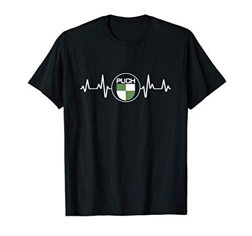 Puch Oldtimer Fans Mofaroller Mofafahrer Geschenk T-Shirt