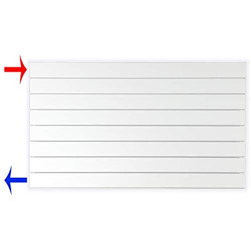 Design Paneelheizkörper Heizkörper Badheizkörper horizontal 602 x 1000 seitlicher Anschluss (669 Watt nach EN442)