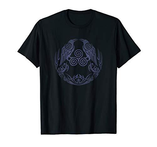Hugin & Munin–Odins Raben Wikinger T-Shirt