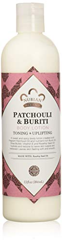 Nubian Heritage Body Lotion with Shea Butter and Rose Hips Lotion PATCHOULI & BURITI,13 fl oz