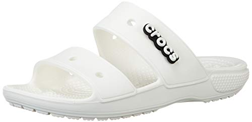 Crocs Classic Sandal, Mixte Adulte - Blanc - 36-37