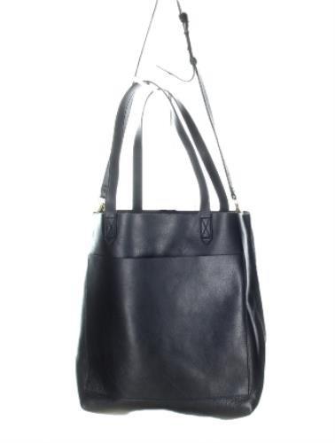 Madewell Medium Transport Tote Handbag In Black F5788 New